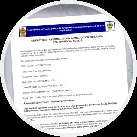 Get your Sri Lanka e-Visa/ETA
